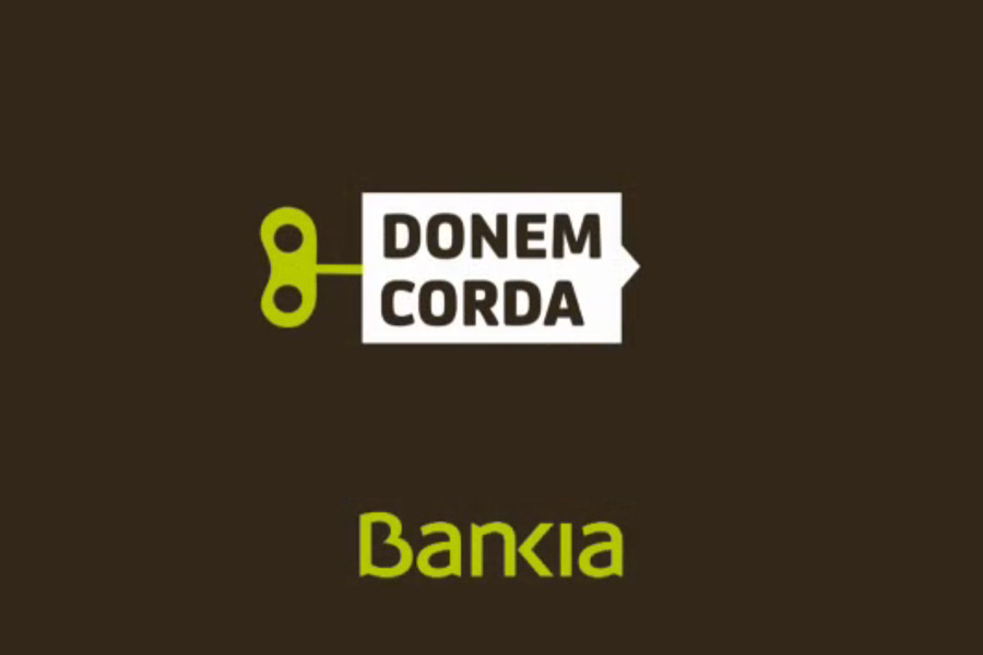 Anuncio de Bankia realizado en El Pekinaire